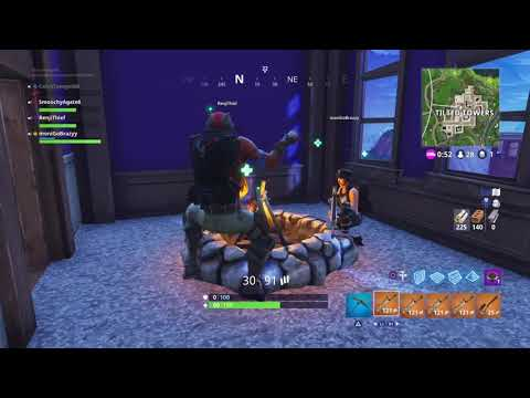 Fortnite solid gold (Old clip) victory royal#1
