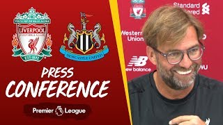 Jürgen Klopp's pre-match press conference | Newcastle Utd