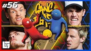 GANG BEASTS VOETBAL met Enzo, Milan, Link en Pascal | XL Battle | LOGS2 #56