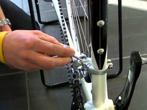 shimano gear justering