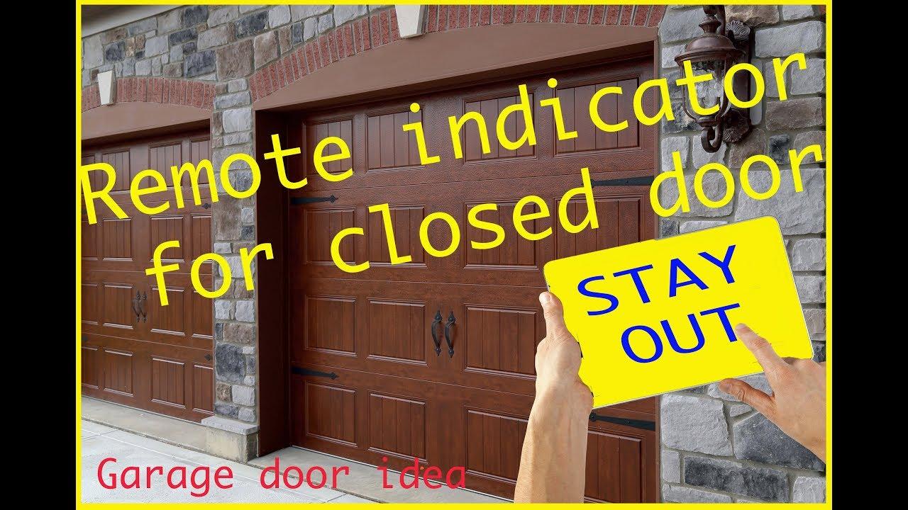 Garage Door Monitor Alarm 2019 How To Make An Open