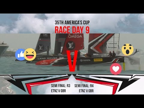 35th America's Cup: Race Day 9 Favourite Moments