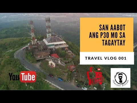 TAGAYTAY / PEOPLES PARK IN THE SKY / P30 BUDGETMEAL / TRAVEL VLOG 001 (2019)
