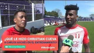 Pedro García es trolleado por Christan Cueva mientras entrevistaba a Carlos Ascues