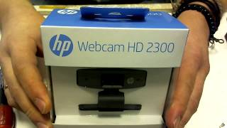 Распаковка и разборка веб камеры unpacking and disassembly HP Webcam HD 2300