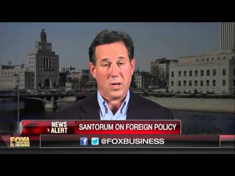 Santorum: Obama has put Iran on a path to a nuclear weapon