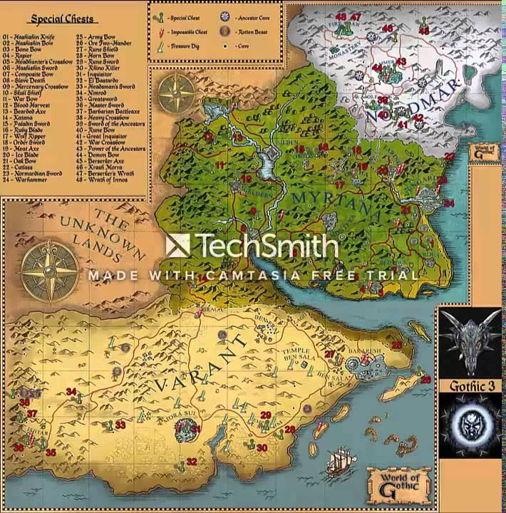 Gothic Iii Mapa Patrz Pl