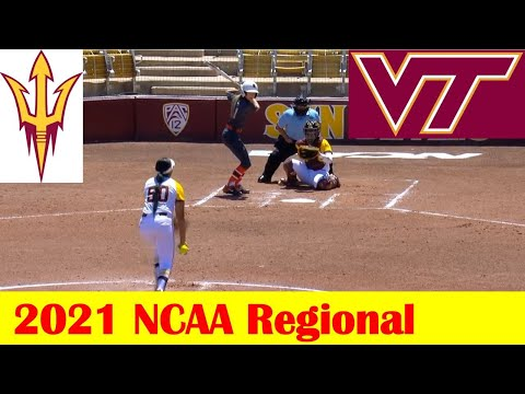 Virginia Tech vs #15 Arizona State Softball Game Highlights, 2021 NCAA Regional Site 15 Game 3 |