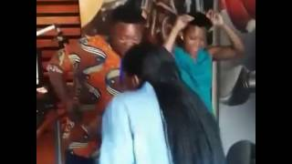 vuclip Zodwa Wabantu from Eyadini Lounge dancing again without her underwear