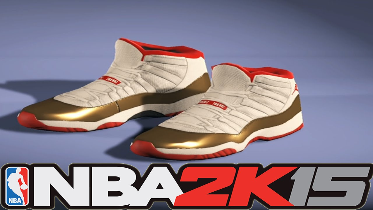 NBA 2K15 Shoe Creator - Air Jordan 11 Ray Allen PE Two Rings [#NBA2K15]