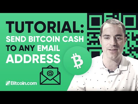 Send Bitcoin Cash To Any Email Address
