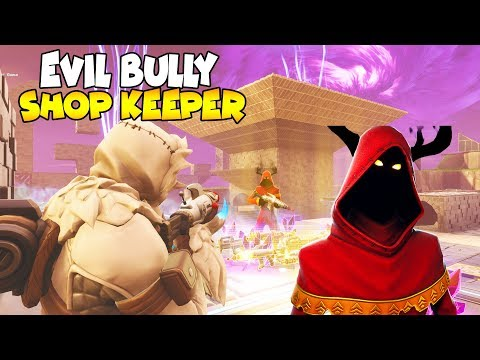 Bully Scams Shop Keeper LEAVING FOREVER?! 😱 (Scammer Gets Scammed) Save The World