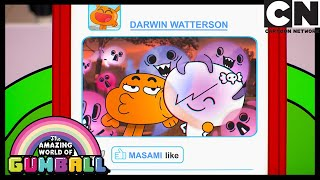 Gumball Doubts Darwin And Carrie's Relationship | Gumball | Cartoon Network
