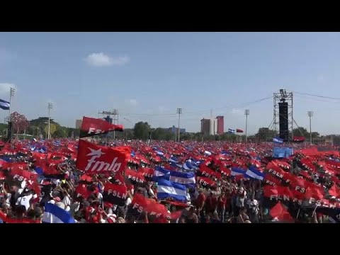 euronews (in English): Thousands rally in Nicaragua