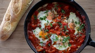 Shakshuka Recipe | Spicy Tomato Baked Eggs