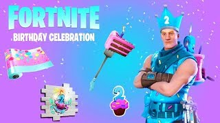 """""""SKIN"""" and FREE REFORES FOR THE 2nd SFIDE FORTNITE COMPLEANNO FROM 24 JULY 2019"""