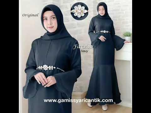 Model Gamis Gaun Pesta Duyung Terbaru 2019