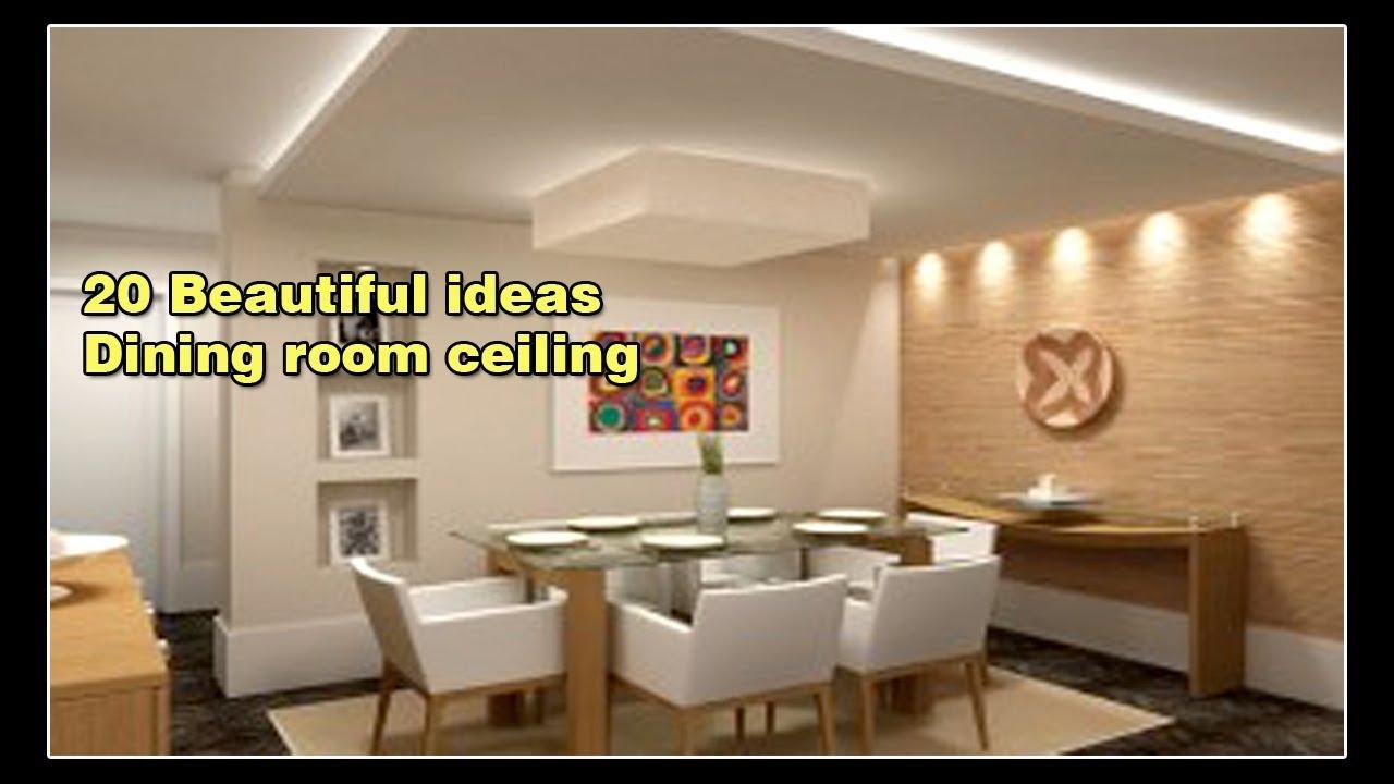 20 Variasi Desain Plafon Ruang Makan Minimalis Modern