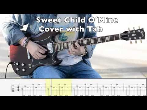 Sweet Child O´Mine - Guns´n Roses (cover With Tab)