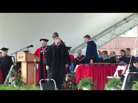 Marist College Commencement 2017 - Pulitzer Prize-Winning Columnist Eugene Robinson