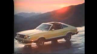 1977 Ford Mustang TV Ad Commercial (4 of  4)