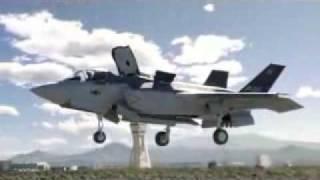 美軍F35B垂直起降新戰機