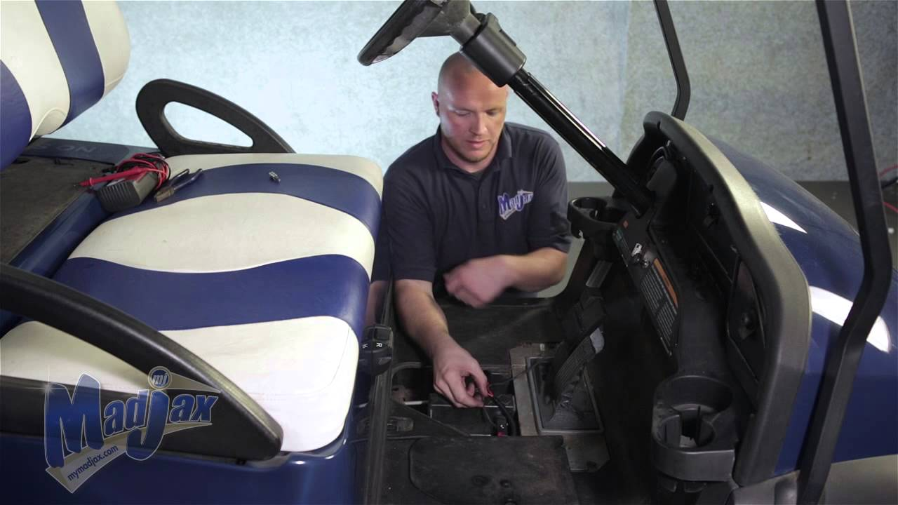 Brake Light Kit How to Install Video Madjax reg Golf Cart