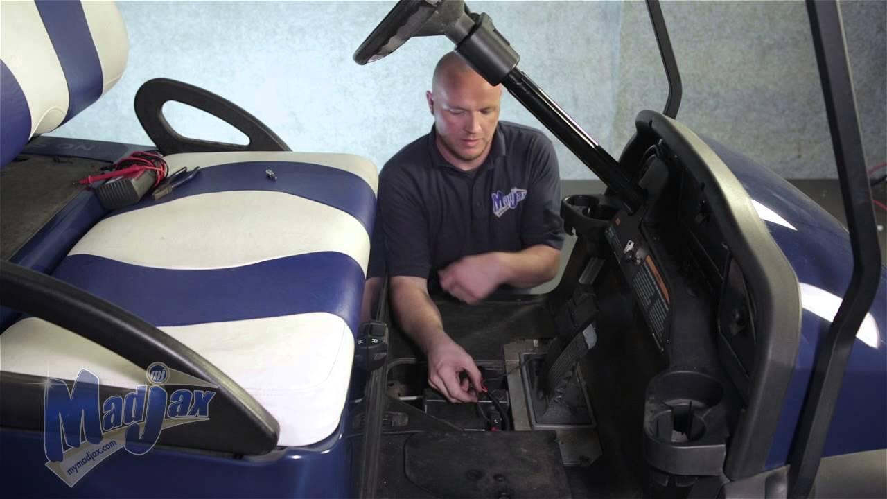 For A Club Car Golf Cart Wiring Diagram For Lights Brake Light Kit How To Install Video Madjax 174 Golf Cart