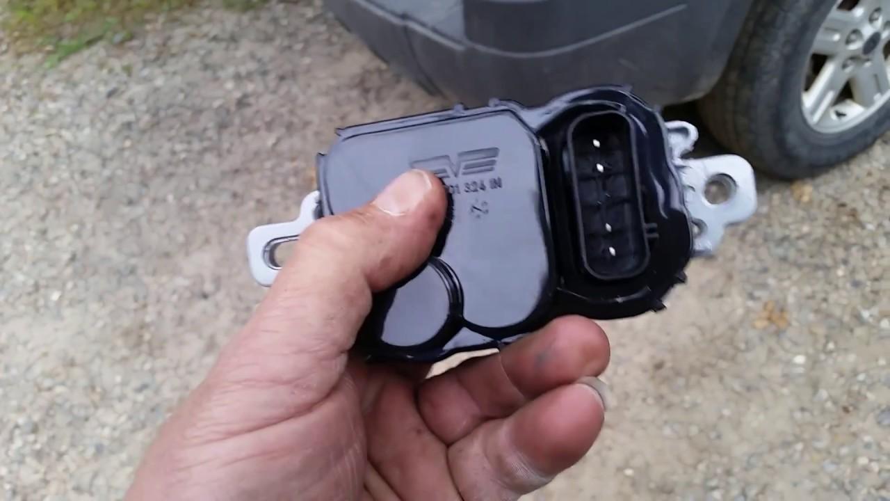 medium resolution of ford fuel pump driver module code p1235