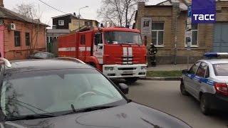 Первые кадры с места взрыва в Ростове-на-Дону