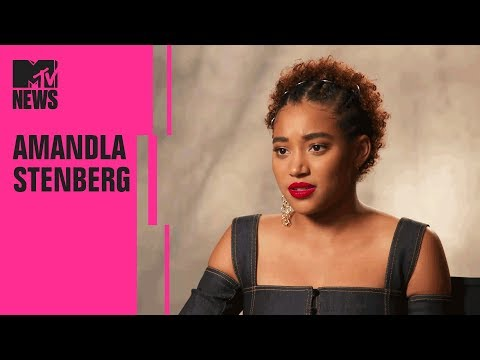 Amandla Stenberg on 'The Hate U Give,' 'The Darkest Minds,' & Becoming Political  MTV