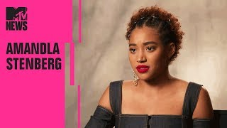 Amandla Stenberg on 'The Hate U Give,' 'The Darkest Minds,' & Becoming Political | MTV News