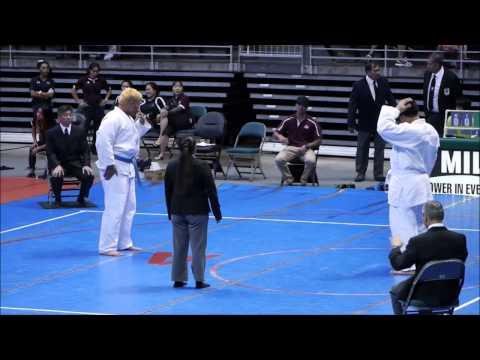 2015 State Judo 25B - Farrington vs Damien 12:27 pm  5-9-15