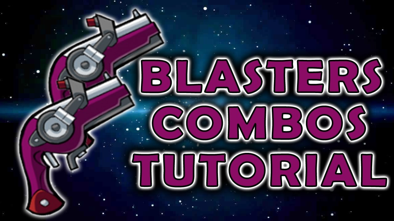 Brawlhalla Guns / Blasters Combos Guide - Basic Combos - Tutorial