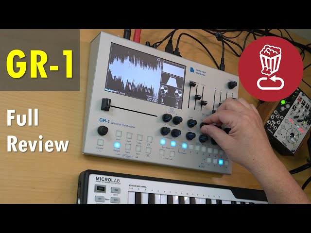 Review: Tasty Chips GR-1 // Granular Synthesis Explained // Full workflow tutorial
