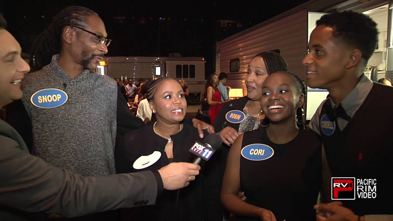 Snoop dogg ready for celebrity family feud youtube