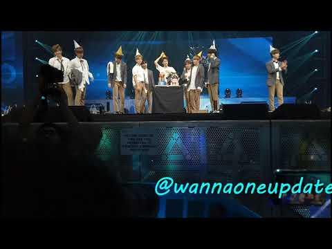 Guanlin Birthday Song - 170922 (SINGAPORE FANMEET)