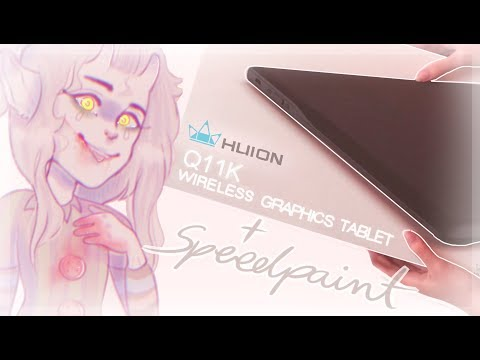HUION Q11K wireless graphics tablet REVIEW by Adishu on