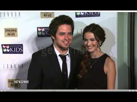 Lee DeWyze and Jonna Walsh at Mending Kids Celebrity Poker Tournament