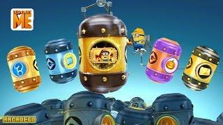 Despicable Me 2 All Prize Pods Surprise Eggs Golden Ticket Prize Pods Haunted Hustle Blue Prize Pods