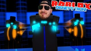 ROBLOX Adventure - WE GOT IN, DISNEY'S TRON!!!