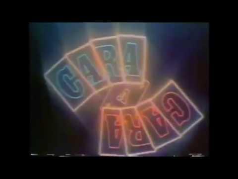 Chamada de Reprise  ''Cara a Cara'' Bandeirantes  Novembro de 1983