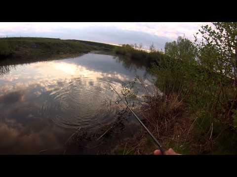 Со спиннингом по малым рекам