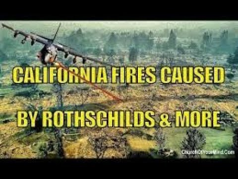 2018 California wildfires! CLEARLY Smart Meters LINKED TO Directed Energy  Weapons, Diseases!