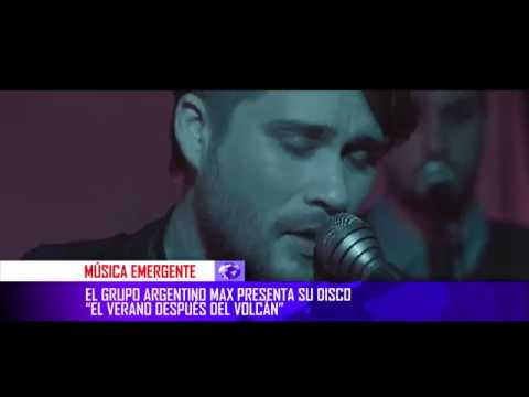 M.A.X en Q Noticias @ Canal Quiero Música / Q Música