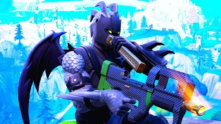Fortnite - BEST BLACK HYBRID SKIN COMBOS & WEAPON WRAP!