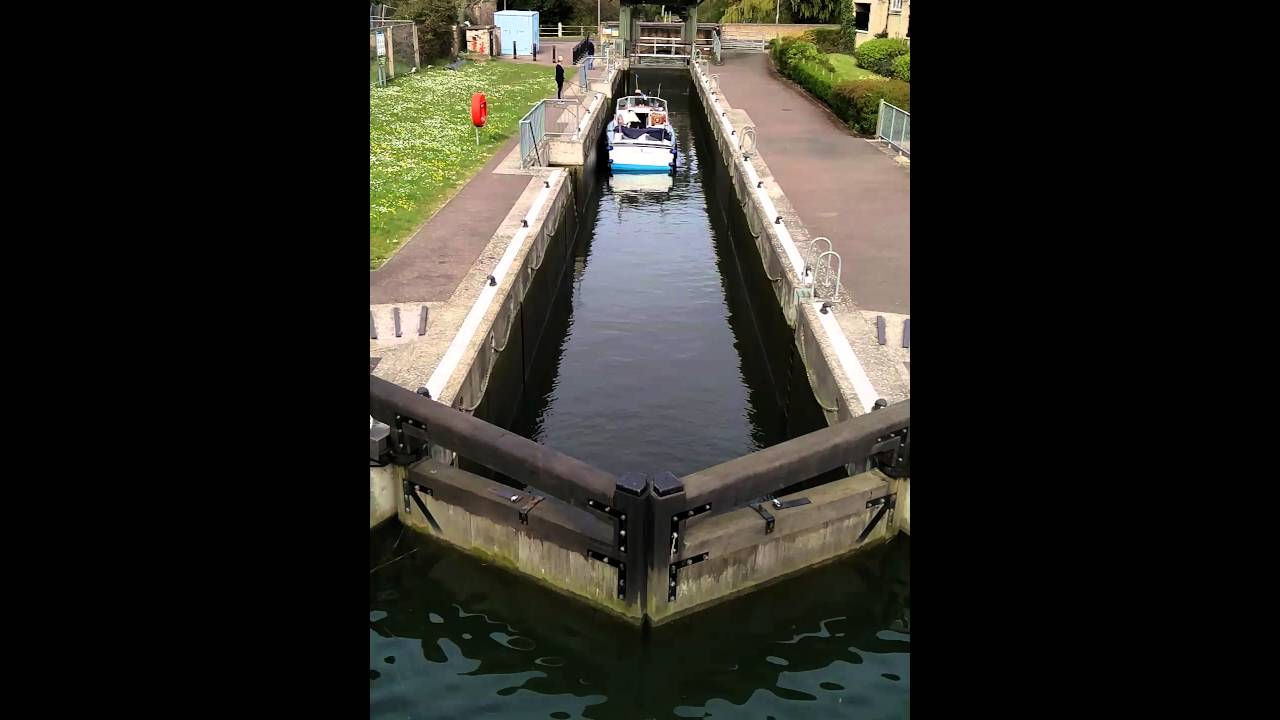 How A River Lock Works  Kind Of