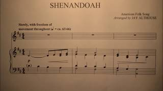 Shenandoah Piano Accompaniment