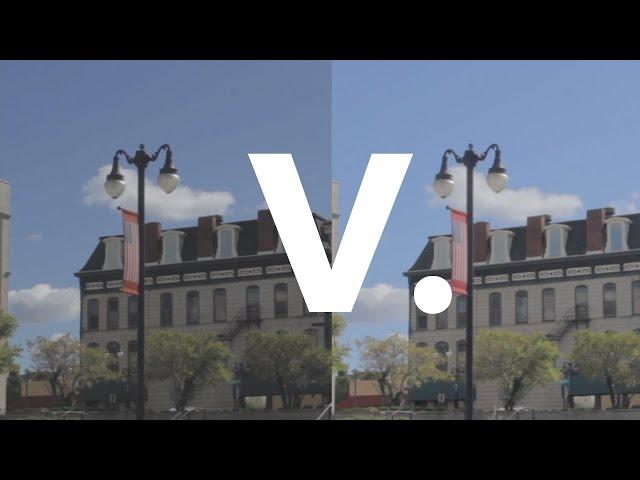 EOSHD C-Log vs  Technicolor Cinestyle Comparison