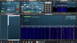 Channel Africa French 15235 Khz Received on Sdrplay RSP1A SDR